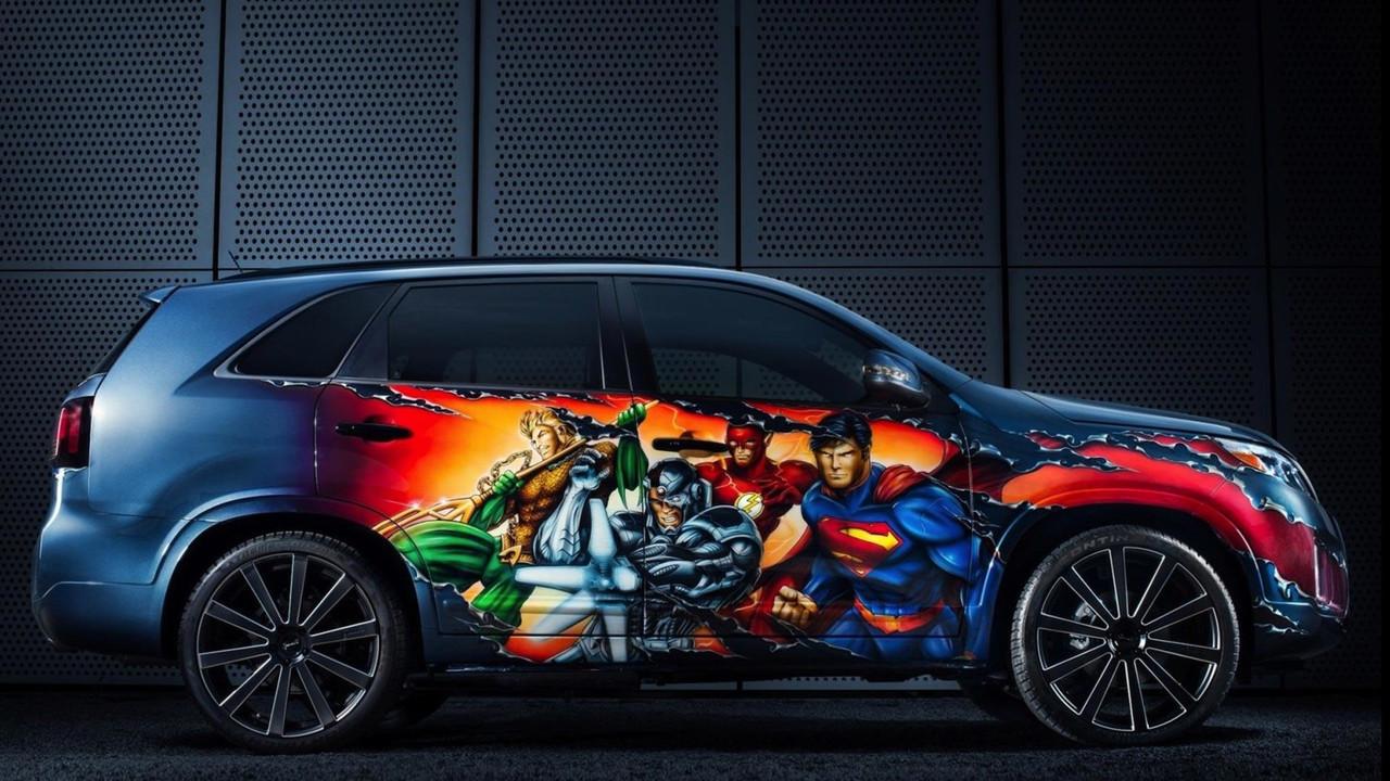 Justice League Kia Sorento