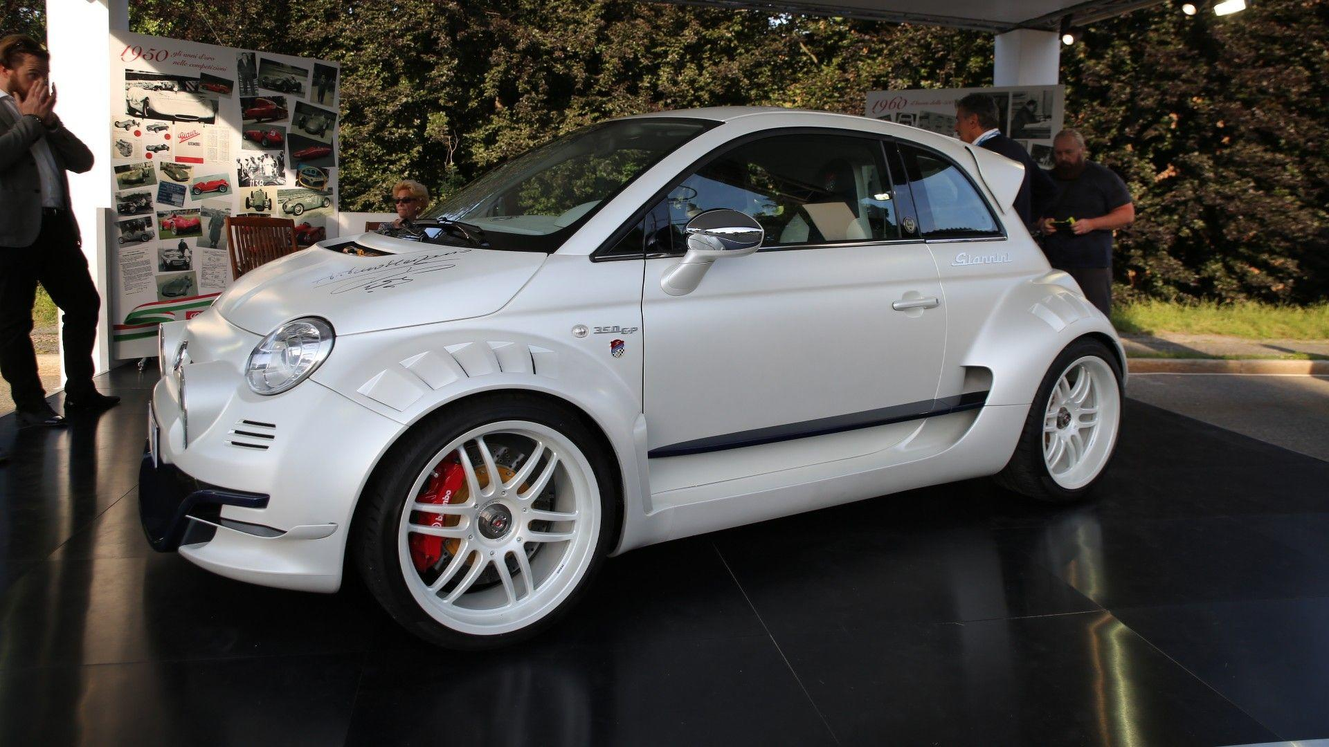 Fiat 500 Giannini Is Super City Car With 350 Hp From Alfa Romeo