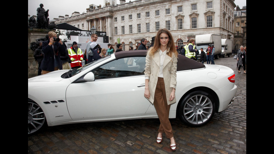 "Le Maserati sfilano al ""Fashion Week "" di Londra"