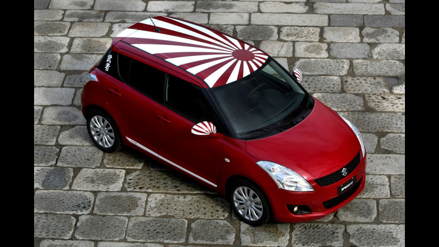 Suzuki Swift Samurai Design