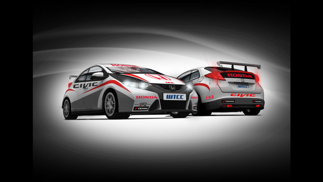 Honda Civic WTCC 2012
