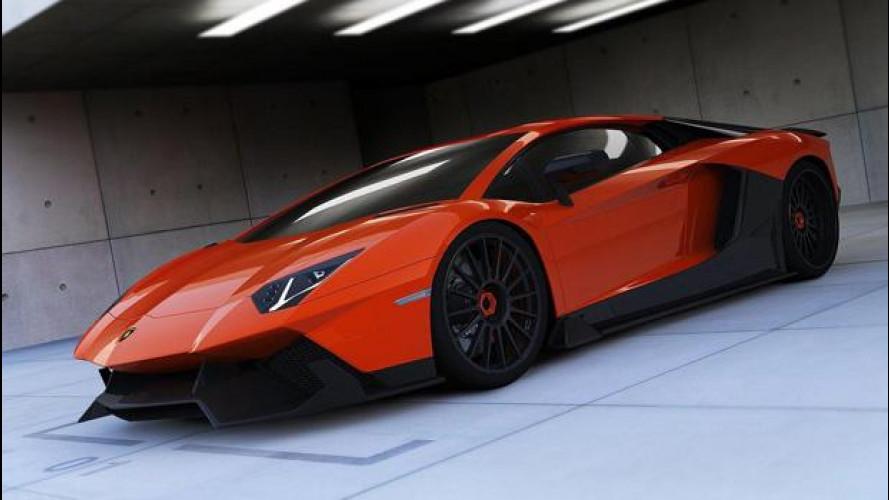 [Copertina] - Lamborghini Aventador LE-C by Renm