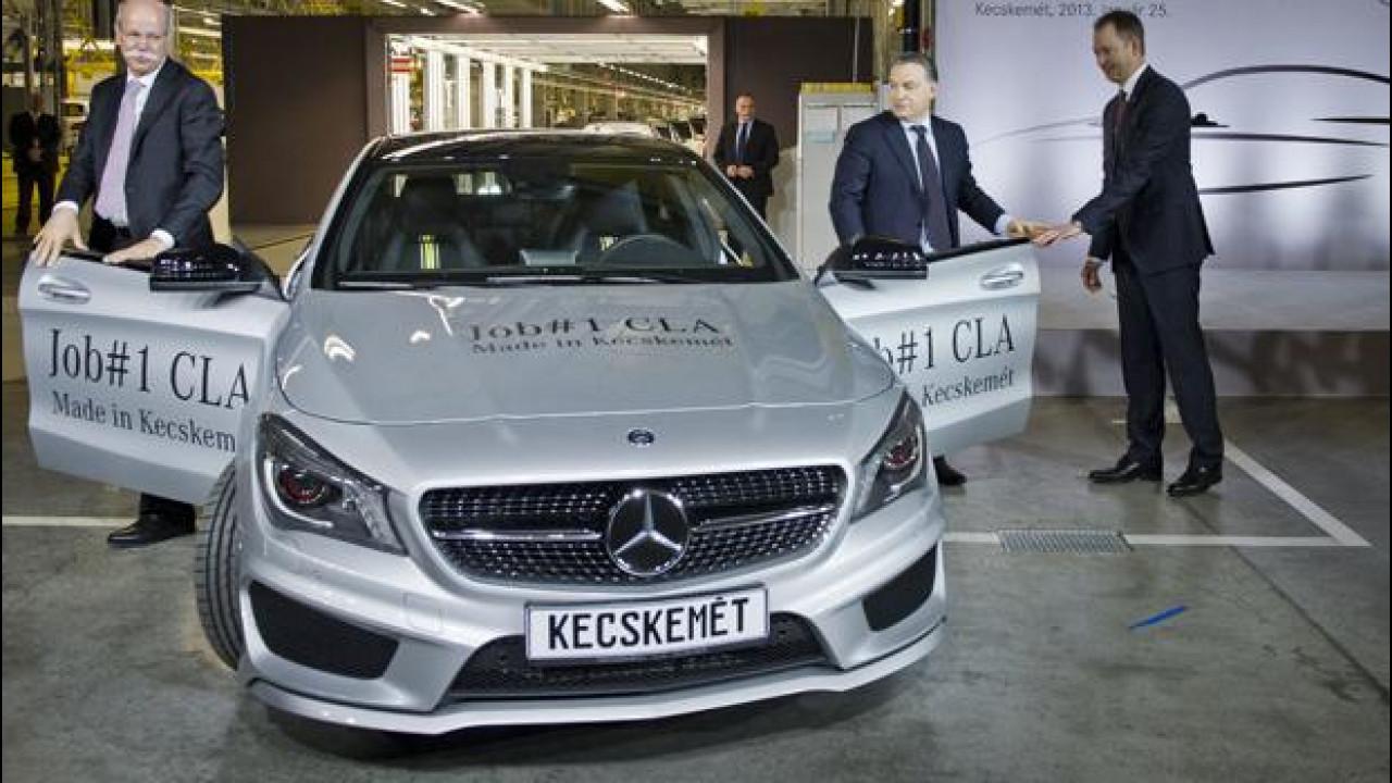 [Copertina] - Mercedes CLA, avviata la produzione