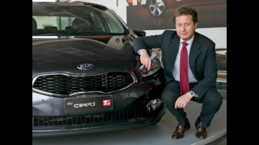 """Il """"Top Manager 2012"""" è Giuseppe Bitti, AD di Kia Motors Italy"""