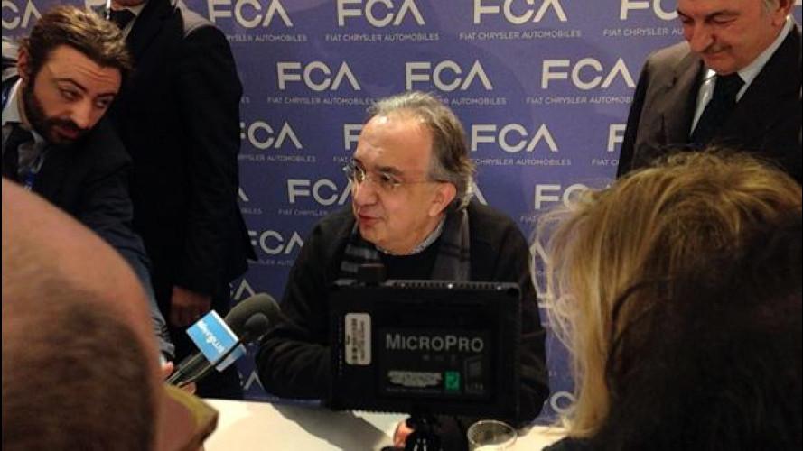 FCA, al Salone di Ginevra parla solo Marchionne