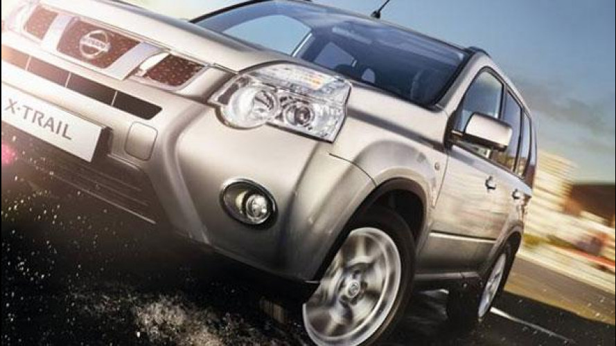 Nissan X-Trail model year 2012