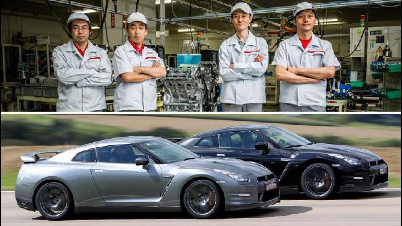 [Copertina] - Nissan GT-R, 100 anni di esperienza per farla a mano