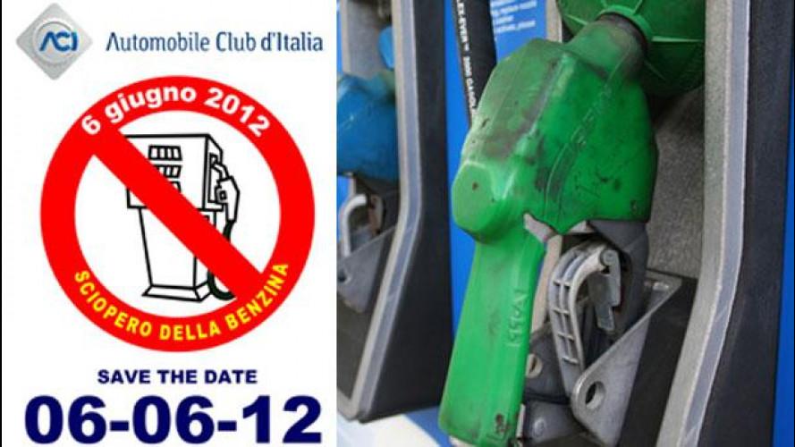 Mercoledì 6 giugno è sciopero degli automobilisti contro il caro benzina
