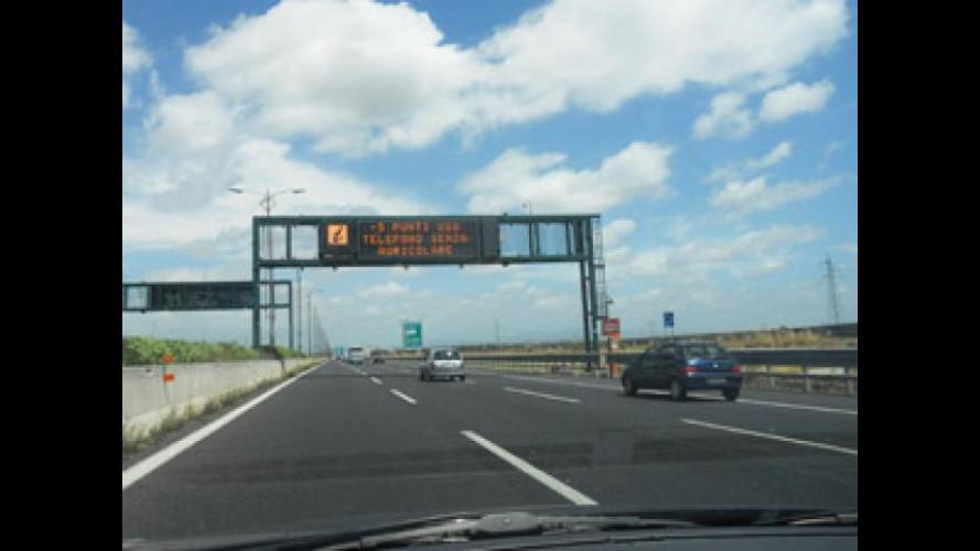 Autostrade: meno incidenti mortali, ma più feriti