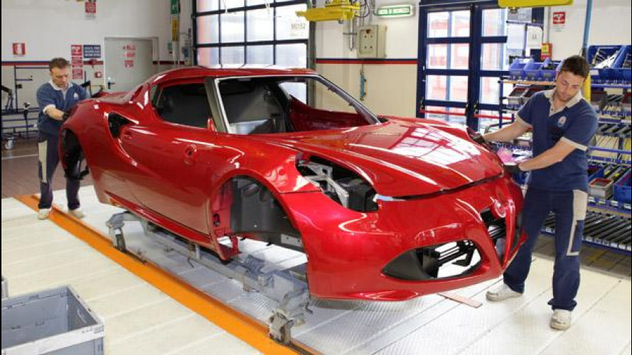 Alfa Romeo 4C, il trionfo dei materiali hi-tech [VIDEO]