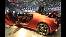 Alfa Romeo 4C: gli interni