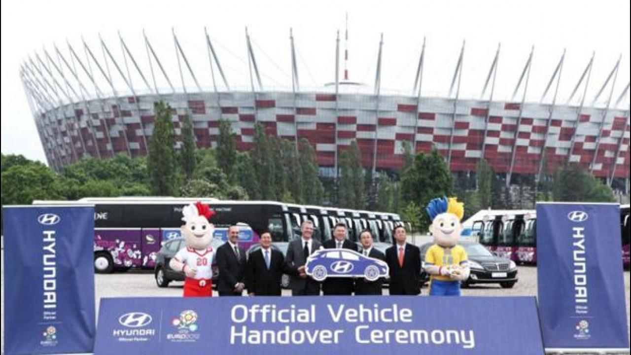 [Copertina] - 366 Hyundai sono scese in campo per UEFA EURO 2012