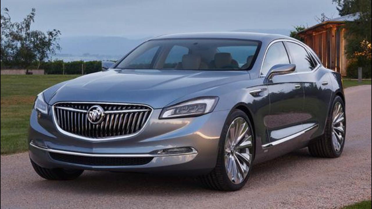 [Copertina] - Buick Avenir concept, lo stile GM del futuro