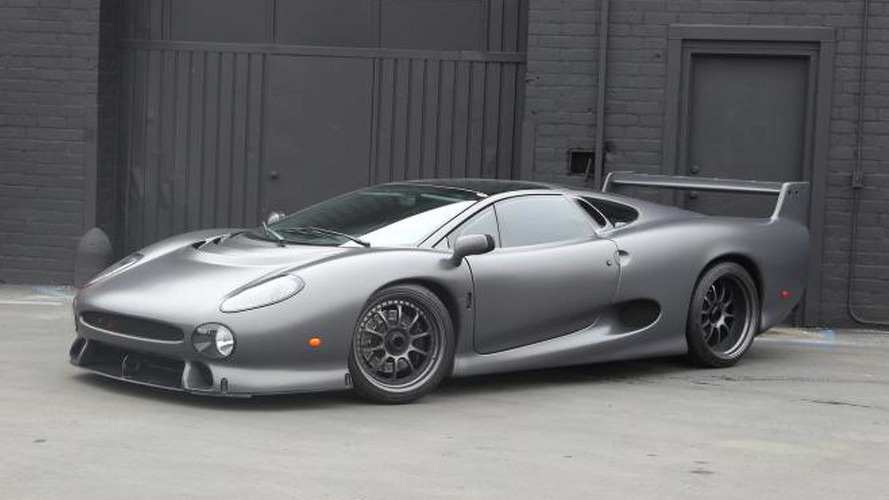 Rare Jaguar XJ220S headed for auction