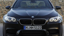 2012 BMW M5 in Frozen Black Hue 23.09.2011