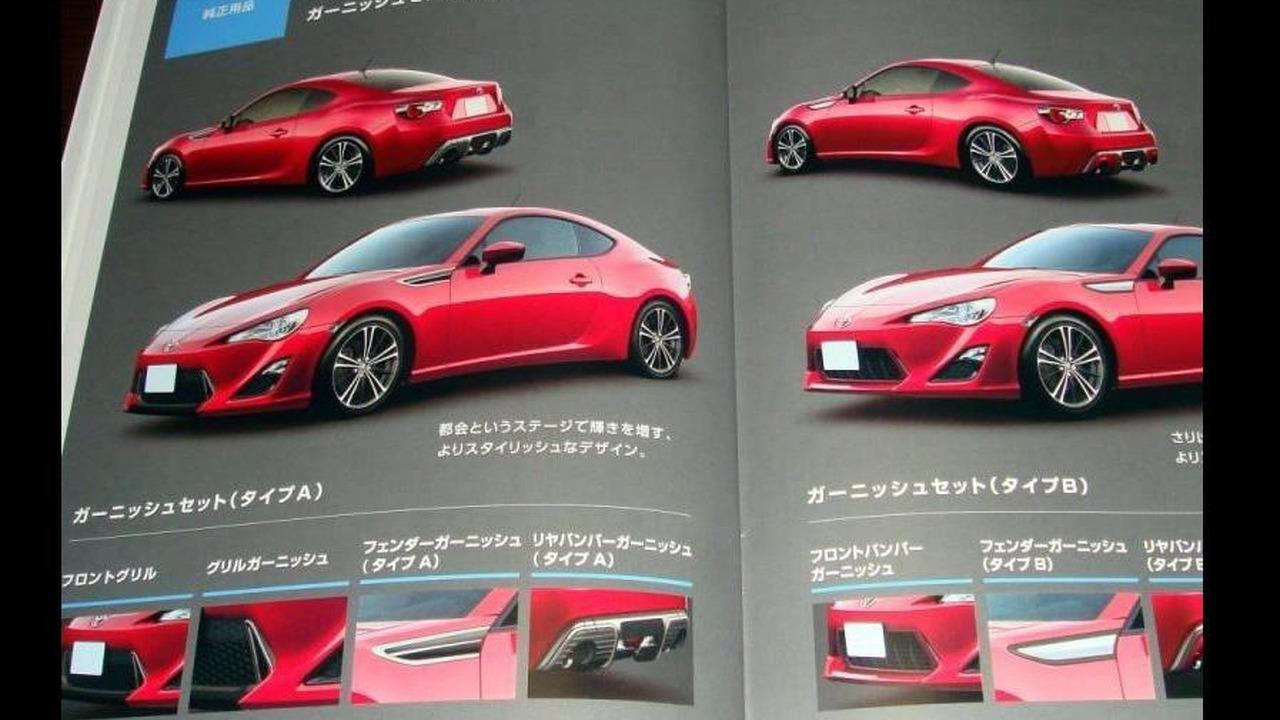 Toyota FT-86 leaked image - 27.10.2011
