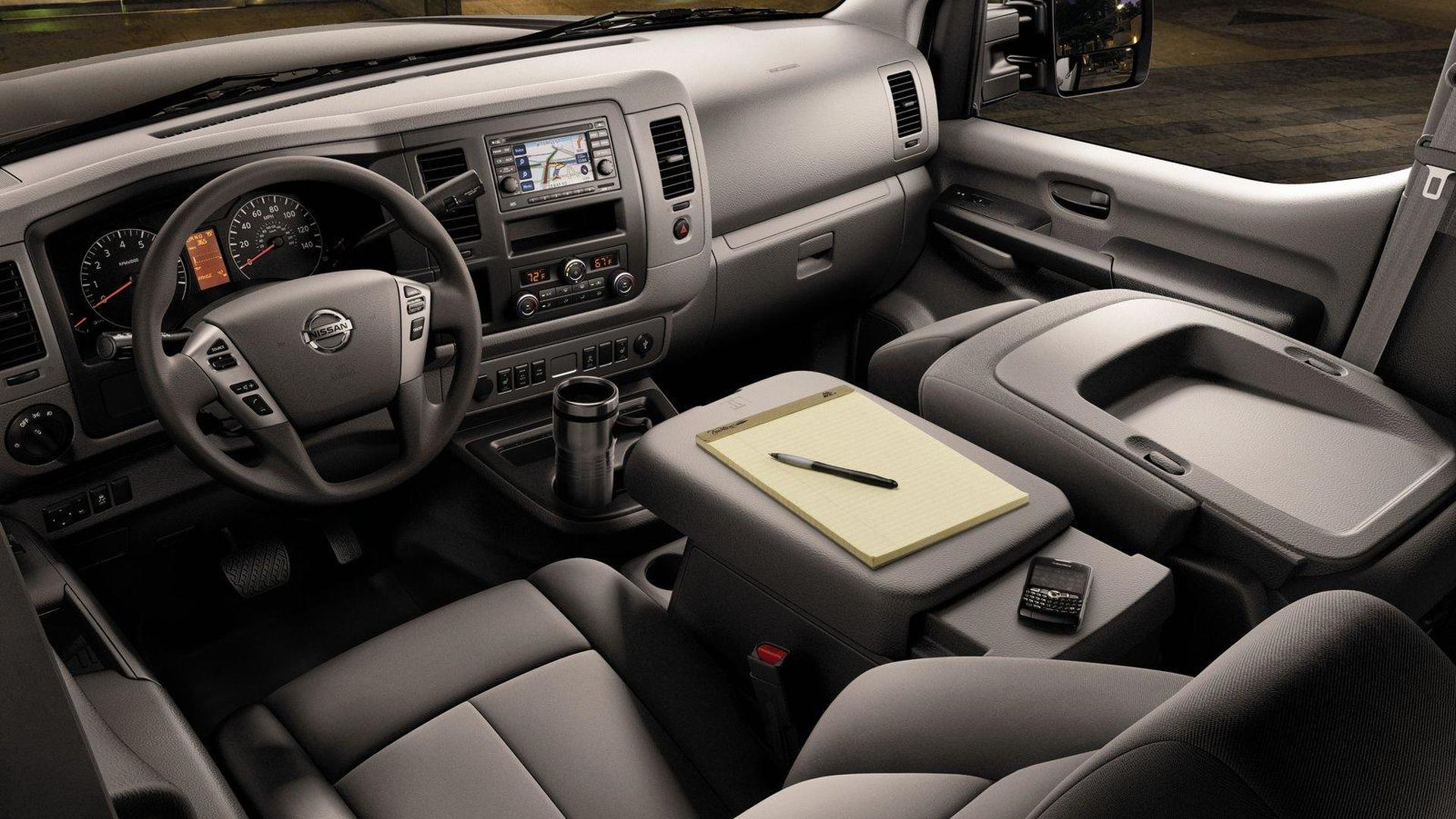 Nissan announces all new 2012 NV3500 HD passenger van for North America