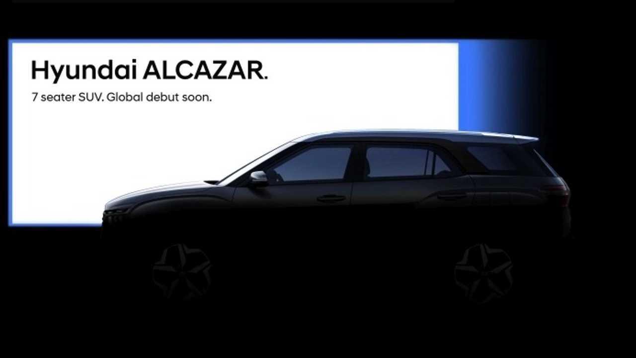 Hyundai Alcazar teaser