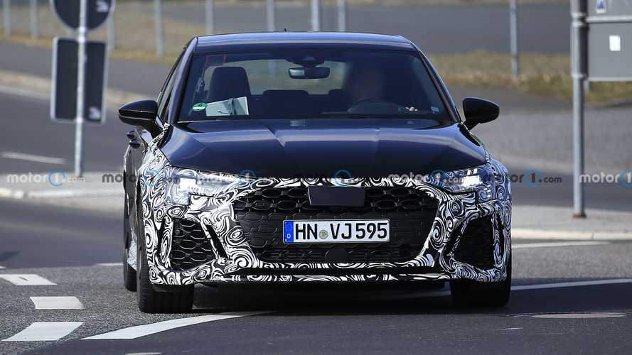 2022 Audi RS3 Sportback and RS3 Sedan spy photos