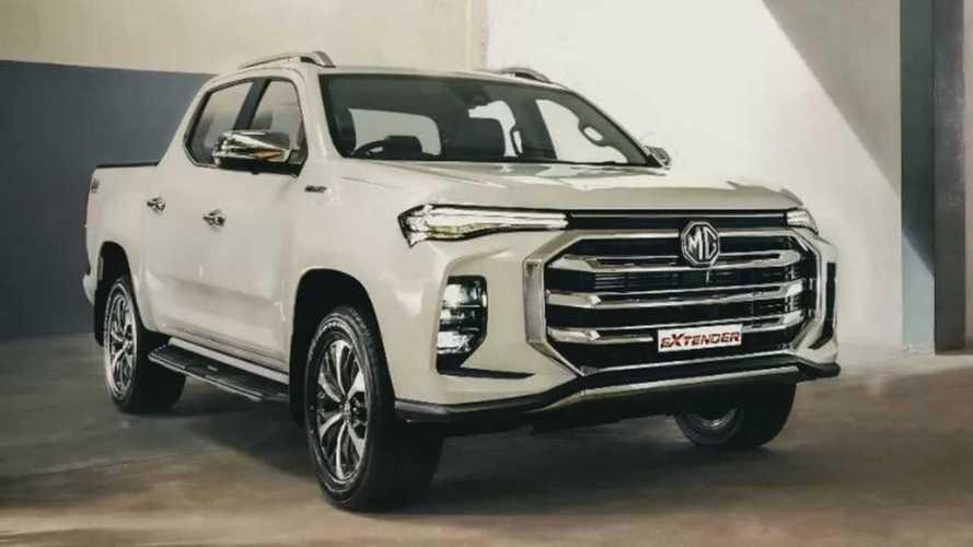 MG Extender, el rival chino del Toyota Hilux para mercados emergentes