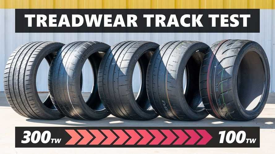 High-Performance Tire Track Test Compares Grip With Treadwear