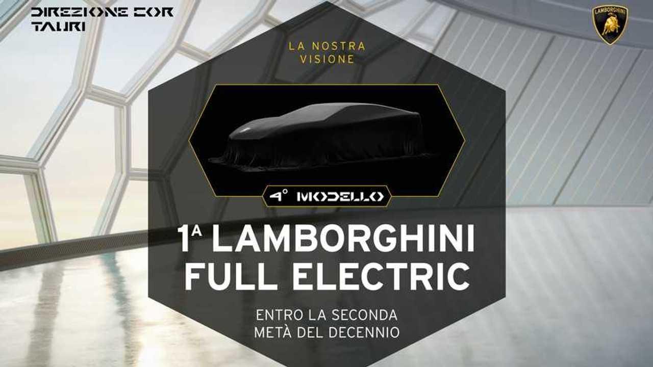 Lamborghini: una supercar elettrica entro la fine del decennio