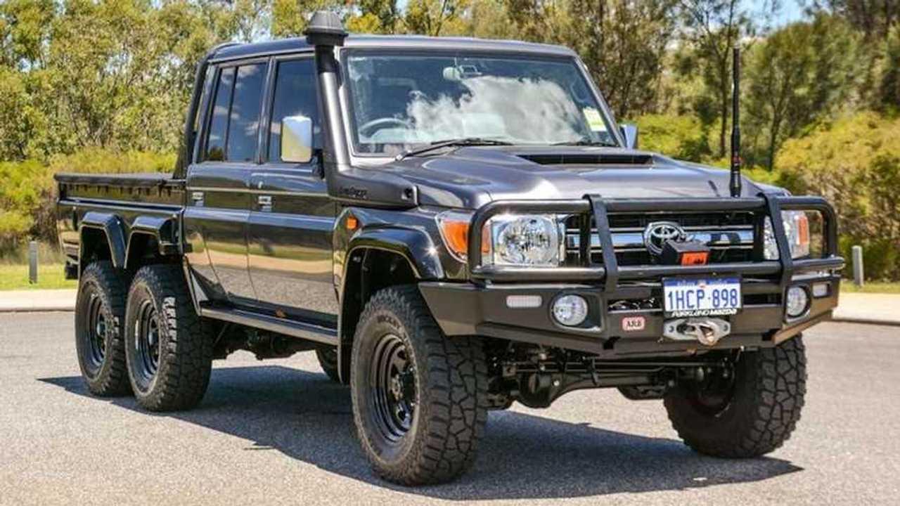 Toyota Land Cruiser pick-up 6x6 a la venta en Australia