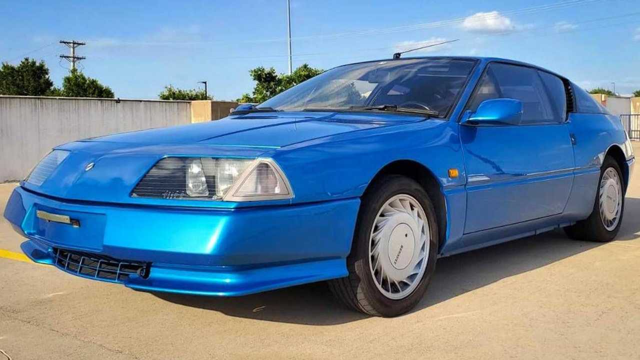 Alpine GTA Turbo de 1992 recientemente subastado