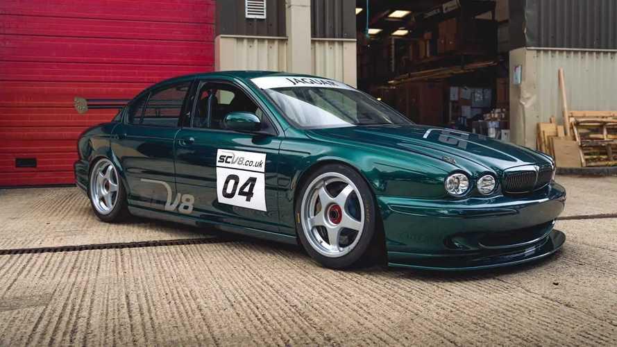 Long Lost Jaguar X-Type Race Car Resurfaces For Sale