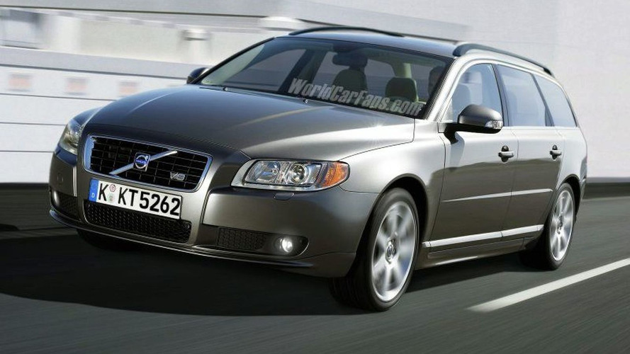 SPY PHOTOS: Volvo XC70