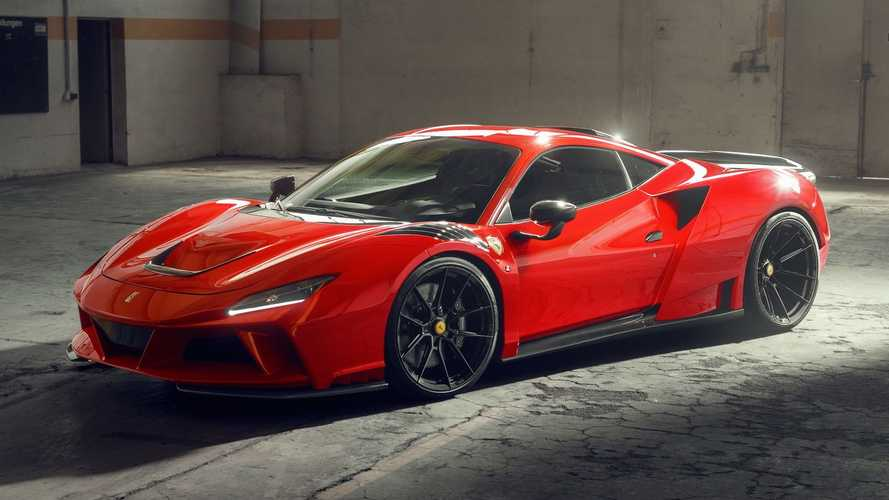 La Ferrari F8 Tributo dopée à plus de 800 ch par Novitec