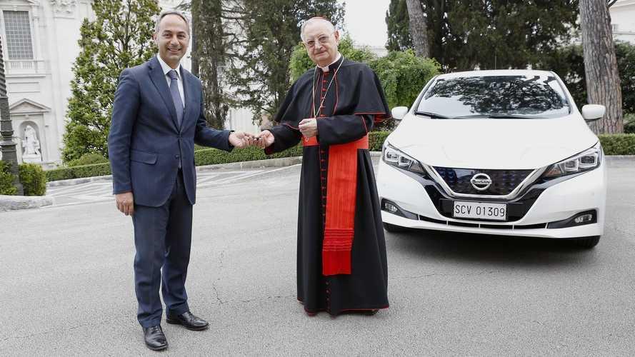 Vaticano inicia jornada rumo ao carbono neutro com o Nissan Leaf