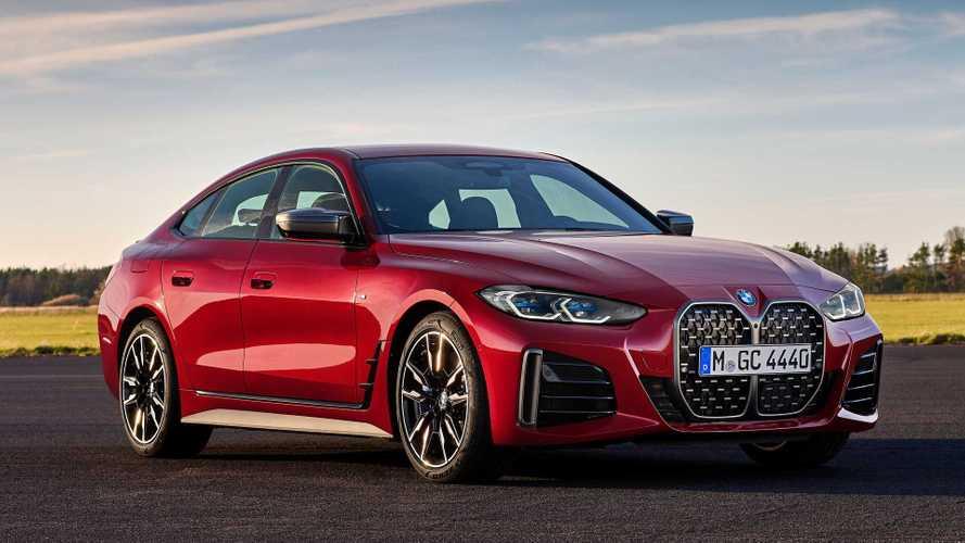 BMW Série 4 Gran Coupé 2022 é revelado com mais espaço e estilo