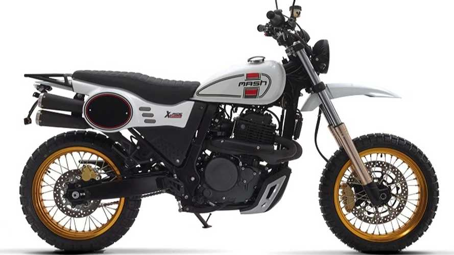 The Mash X-Ride Is Cosplaying As A Ducati Scrambler Desert Sled