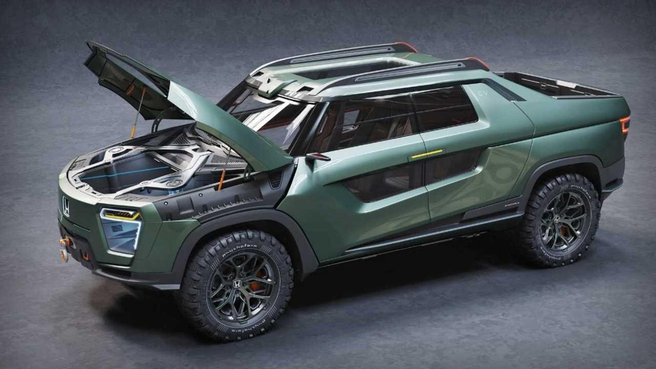 Honda Ridgeline EV Idea