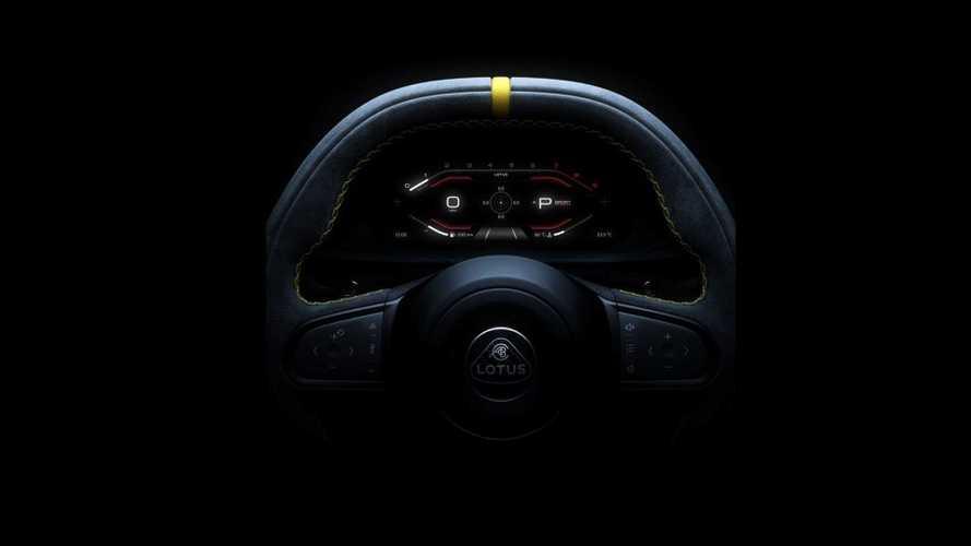 Lotus показал часть своей последней машины с ДВС