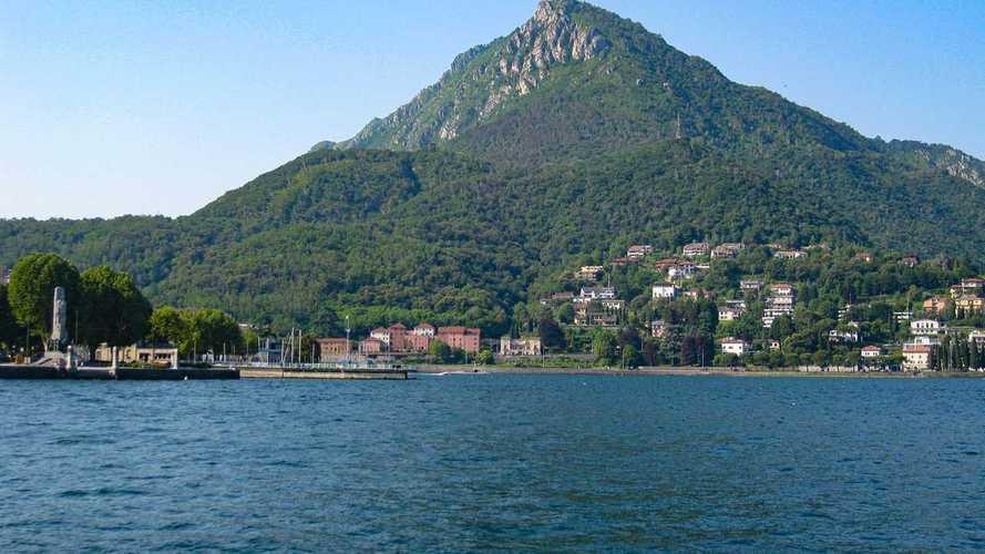 Ducatis Submerged in Lake Como