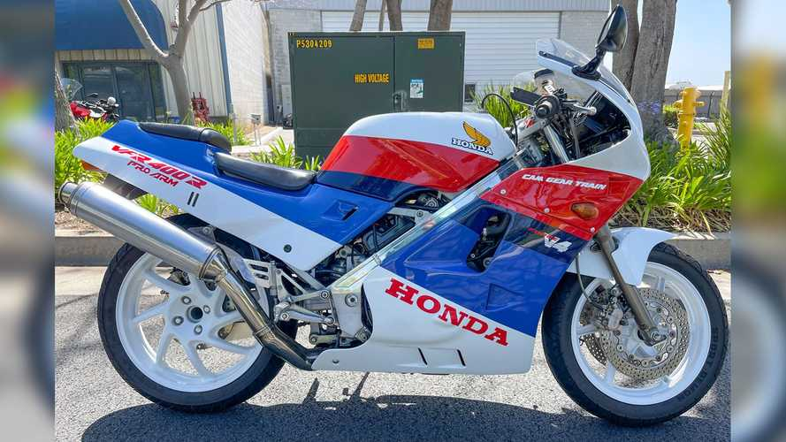 This 1987 Honda VFR400R NC24 Is Up For Auction