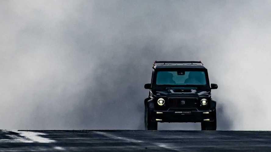 Mercedes Classe G, Brabus la trasforma in un razzo