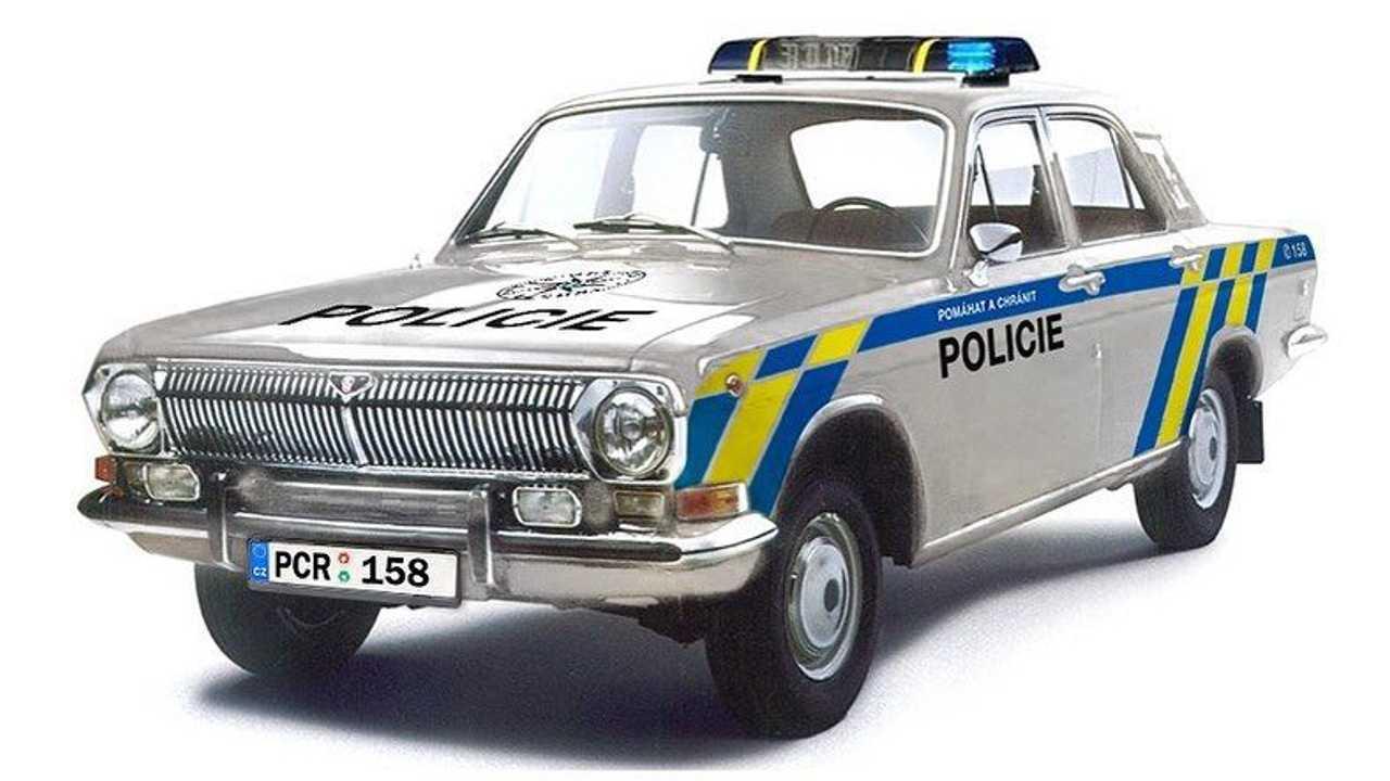 «Нива» в современной ливрее полиции Чехии