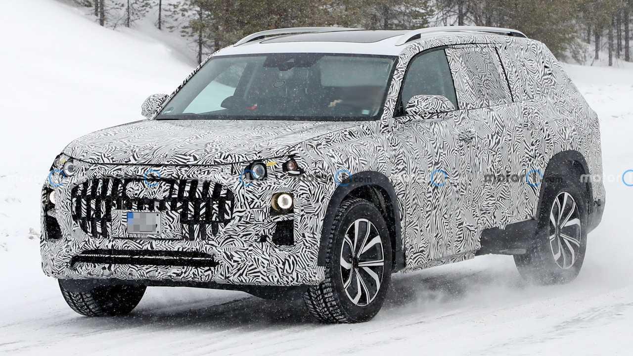 Audi Q9 em testes