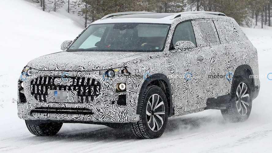 Audi вывела на тесты свой новый внедорожный флагман (20+ фото)