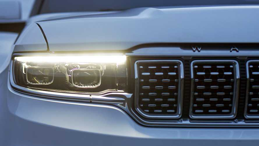 Jeep Grand Wagoneer Teasers Reveal An Abundance Of Chrome And Leather