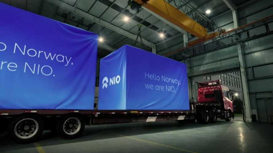 NIO обеспечит Норвегию своими станциями быстрой смены батарей