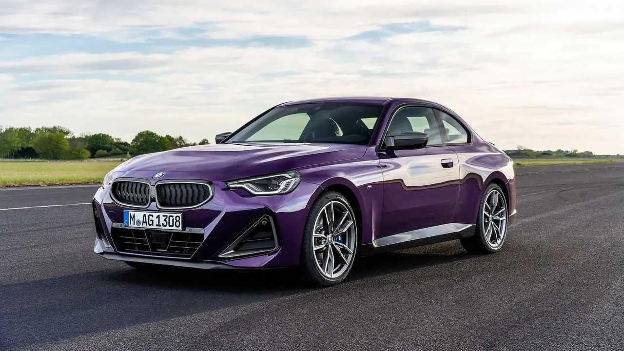 2022 BMW M240i külső első negyed