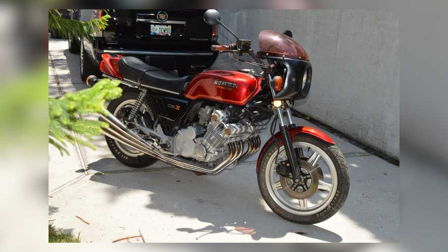 This 1979 Honda CBX Wants To Be Your Shiny New Project Bike