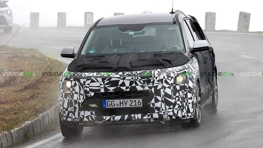 Photos espion du nouveau Kia Niro hybride