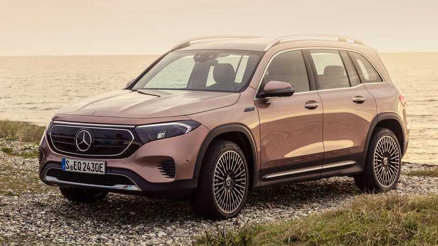 Mercedes представил свой первый семиместный электрокроссовер