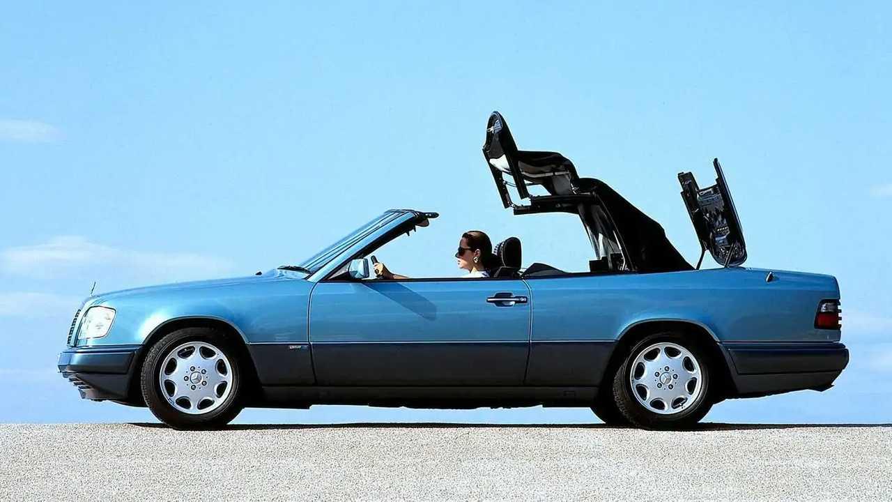 30 Jahre Mercedes Cabriolet der Baureihe 124