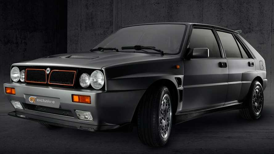 Check out how the electric Lancia Delta Evo-e made by GCK drives